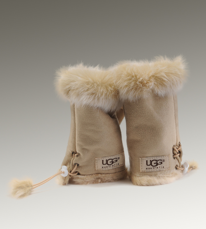 UGG Fingerless 6200 Sand Glove